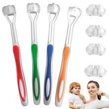 3-сторонняя Зубная щётка на очень тонком каблуке зубные щетки с мягкой щетиной для полости рта чистка зубов электрическая зубная щетка для взрослых детей WH998