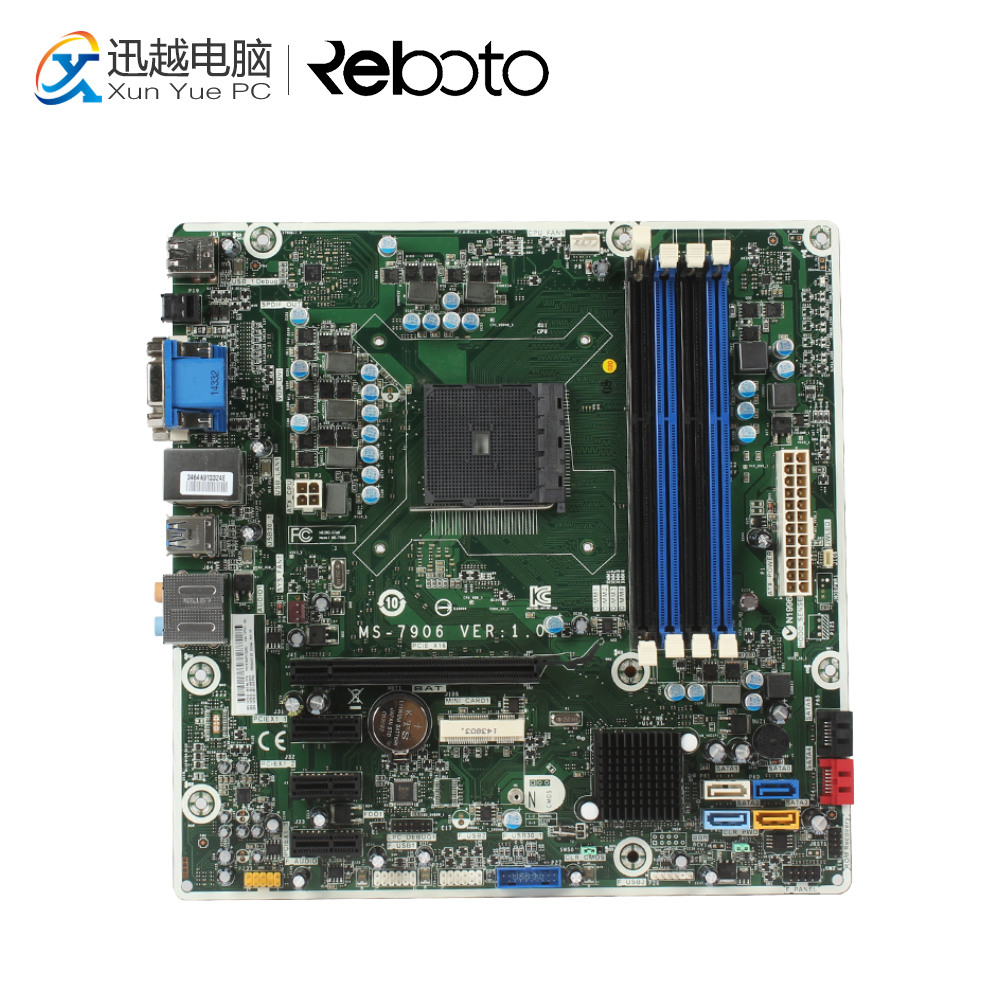 For HP MS-7906 Desktop Motherboard 747512-501 747512-001 AMD A88X Socket FM2 DDR3