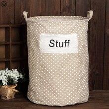 Folding Toy Storage Basket