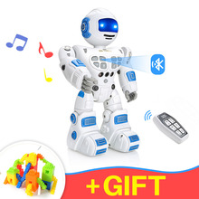 Bluetooth RC Toy Robots Remote Control Toys intelligent robotics dancing singing gesture sensing recording robot toys children