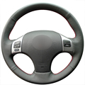 Black Artificial Leather Car Steering Wheel Cover for Lexus is250