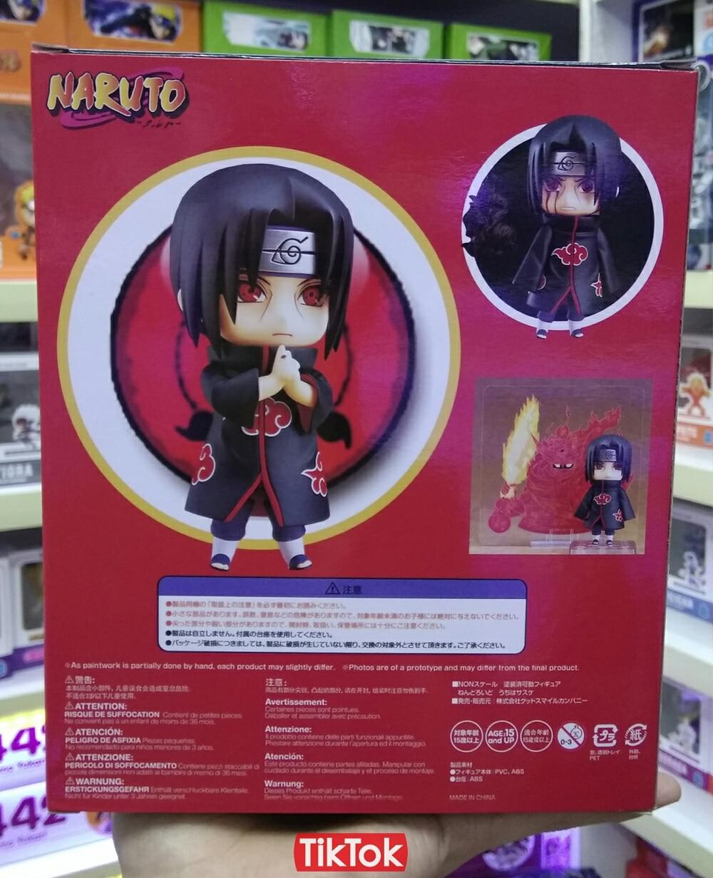 Naruto - Naruto Kyuubi, Uchiha Susanoo, Kakashi Chidori, Sakura katsuyu Action Figures (10cm)