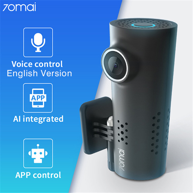 Dash Cam with Voice Control Xiaomi 70mai