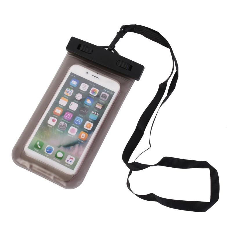 universal float airbag waterproof portable underwater cell phone pouch dry bag case touch screen. Black Bedroom Furniture Sets. Home Design Ideas