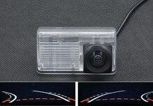 Trajectory Tracks 1080P Fisheye Lens Car Rear view Camera for Toyota Corolla Sedan 2007 2008 2009 2010 2011 2012 2013 BYD F3 цена и фото
