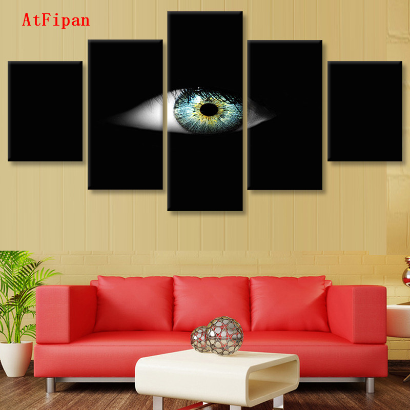 AtFipan Modern Printed Canvas Paintings On The Wall Unframed Wall ...
