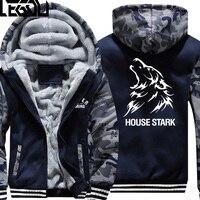 USA SIZE Game Of Thrones House Baratheon Winter Fleece Coat Print Hoodies Thicken Sweatershirts Unisex