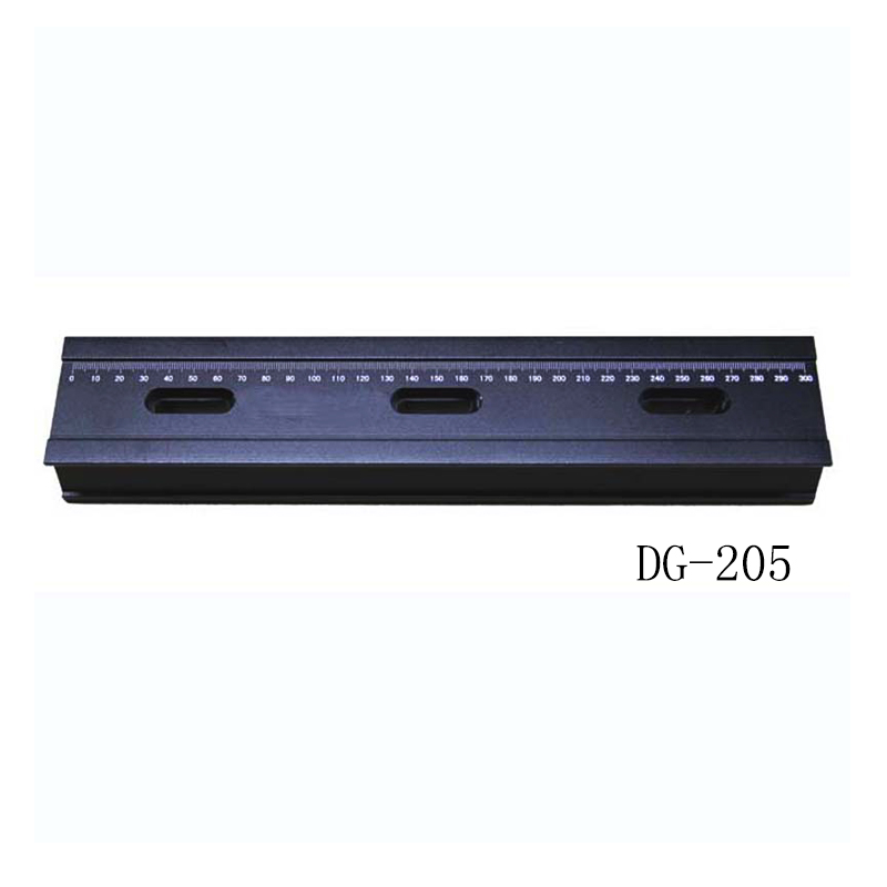 DG-205 Precise Guide Rail, Optical Slide, 100mm x 1200mm dg 301 precise guide rail optical slide 40mm x 40mm