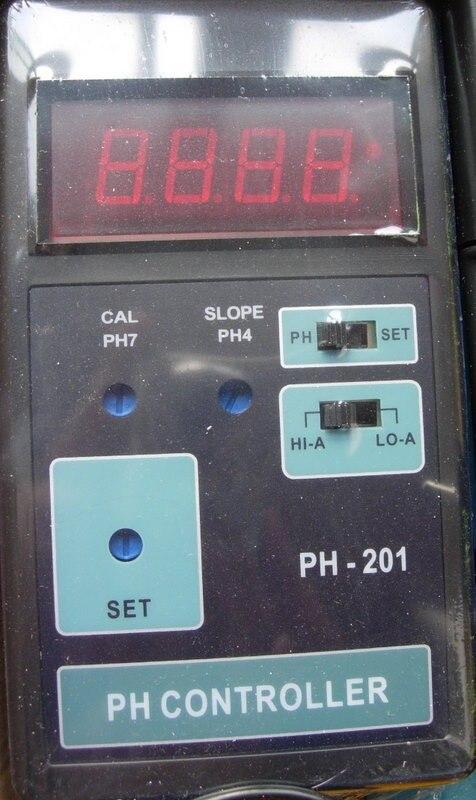 PH 201 Ph Meter und Wert Controller mit Sonde und HALLO/LO aktion funktion schalter-in Fisch- und Wasserzubehörteile aus Heim und Garten bei  Gruppe 2