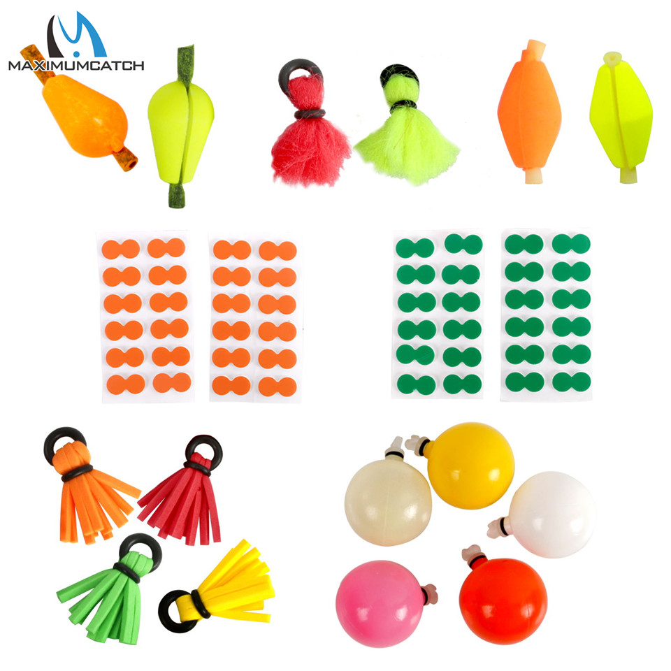 5-pcs Teardrop Foam Strike Indicator for Nymphing Fly-Fishing