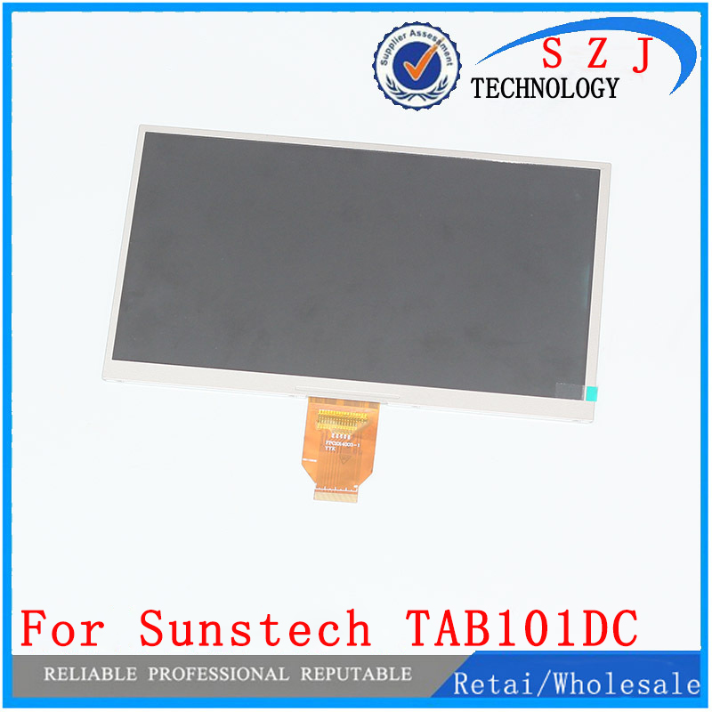 New 10.1'' inch LCD Display Sunstech TAB101DC Tablet TFT LCD Screen Matrix Replacement Panel Parts Free Shipping new 8 inch lcd screen matrix bw8022d for teclast x80 power x80 pro tablet lcd screen free shipping