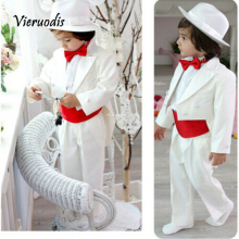 Custom Made Kid Suits Boy's Wedding Party Tuxedos Children Suits Page Boy Suits 2 wedding boy s suits double breasted suit page boy party prom suits custom made 2 piece set