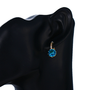 EMMAYA Fashion 10 Colors AAA CZ Element Stud Earrings For Women Wholesale Chea Factory Price 4