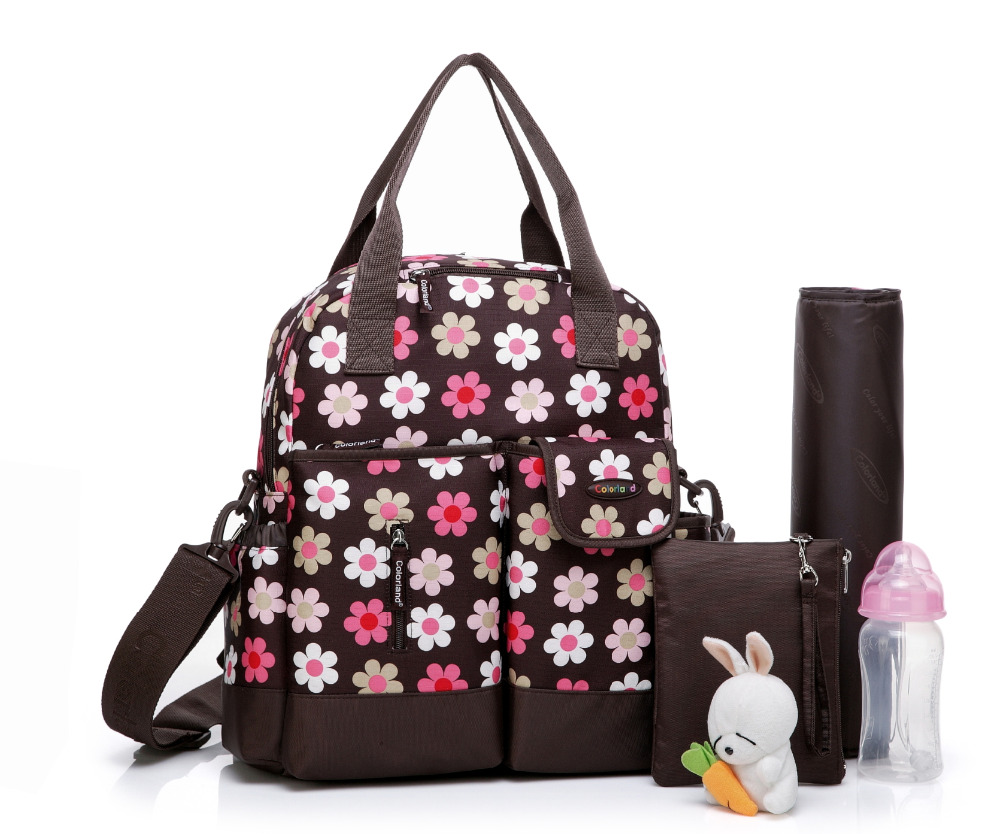 Colorland Diaper Bag Multifunctional Baby Bag Backpack Nappy Bag Stroller Bag Organizer Mommy Maternity Free Shipping insular maternity bag fashion baby nappy changing bag mommy diaper stroller backpack baby organizer bag