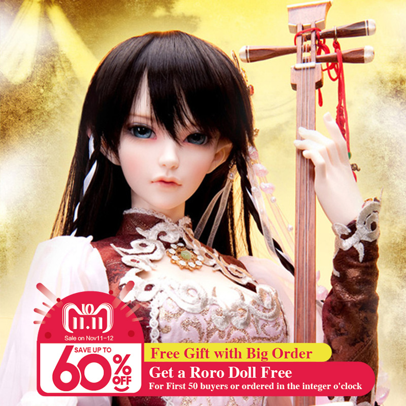 все цены на OUENEIFS bjd sd doll fairyland feeple65 siean 1/3 body model baby girls dolls eyes High Quality toys shop resin онлайн