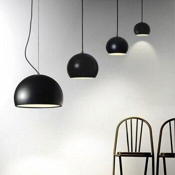 Светильники для столовой с одной головкой, 35 см, современный минималистичный персональный креативный светильник для учебы, магазин одежды, ...