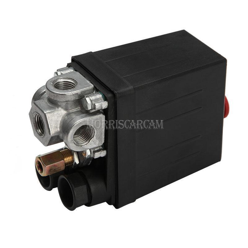175psi 220V 20A Heavy Duty Air Compressor Pressure Switch Control Valve 4 Port