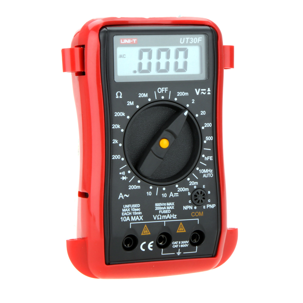UT30F UNI-T Precise Palm-Size Digital Multimeters W/ Frequency Test Analog LCR Meter Ammeter Multitester Multimetro - LIuLeiFan's Store store