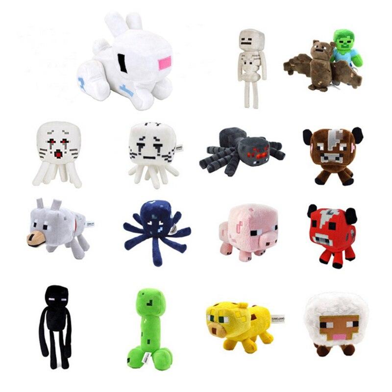 15 Styles font b Minecraft b font Stuffed Plush Toys 16 26cm font b Minecraft b