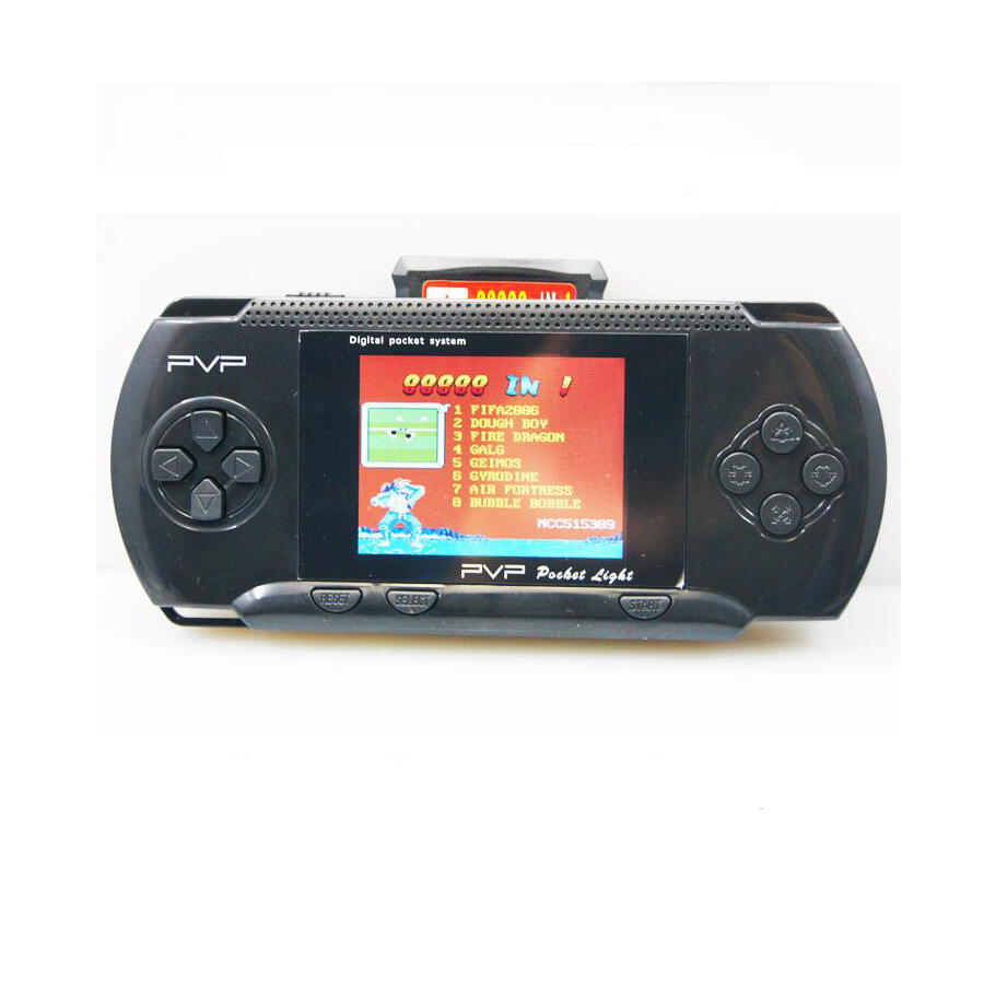 Shop2883091 Store PVP 3000 Hand Held Game Player Handheld More 200 Built in games Portable Video Console 3'' LCD Retro 8 Bit Games