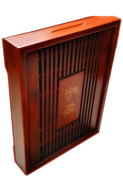Rectangular Bamboo Tea Tray