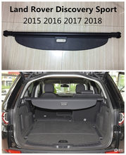 For Land Rover Discovery Sport 2015 2016 2017 2018 Rear Trunk Security Shield Cargo Cover High Qualit Auto Accessories Black(China)