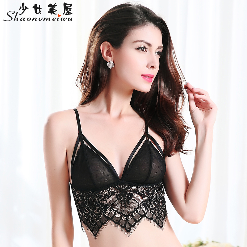 Women's Intimates New Fashion Brand European Womens Bra Triangle Cup Slim Beauty Back Sexy Seamless Woman Underwear Comfortable Hot Top Fashion Female Braes
