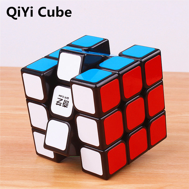 QiYi Sail 3x3x3 Magic Cubes Stickerless Warrior W Professional Speed Cube Puzzles Cubo Magico Montessori Educational Toy For kid