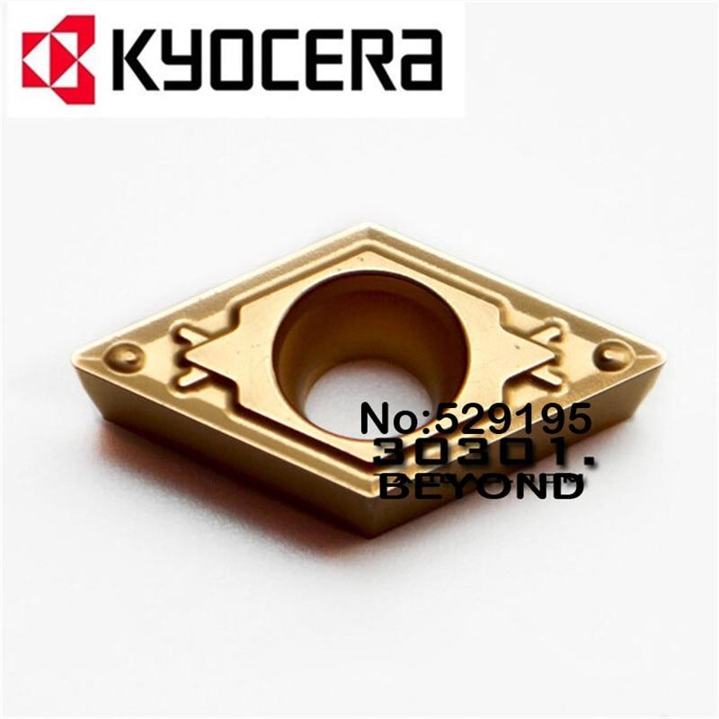Kyocera DCMT070202-HQ DCMT070204-HQ DCMT070208-HQ CA5525 DCMT 070202 070204 070208 резец карбидная вставка для токарного станка резак
