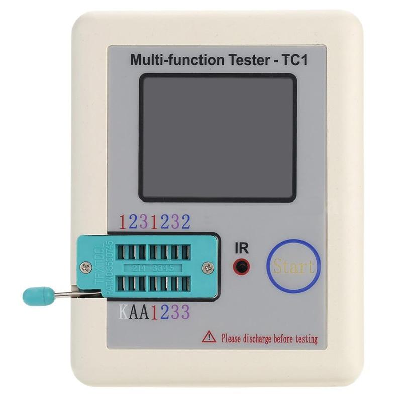 LCR-TC1 Transistor Tester Didoe Triode Capacitance Resistor NPN PNP Detector 8DC0 ss8550 ss8050 y1 y2 each 50pcs ss8050 50pcs ss8550 50pcs sot89 pnp npn sot 89 smd all 100pcs lot triode transistor