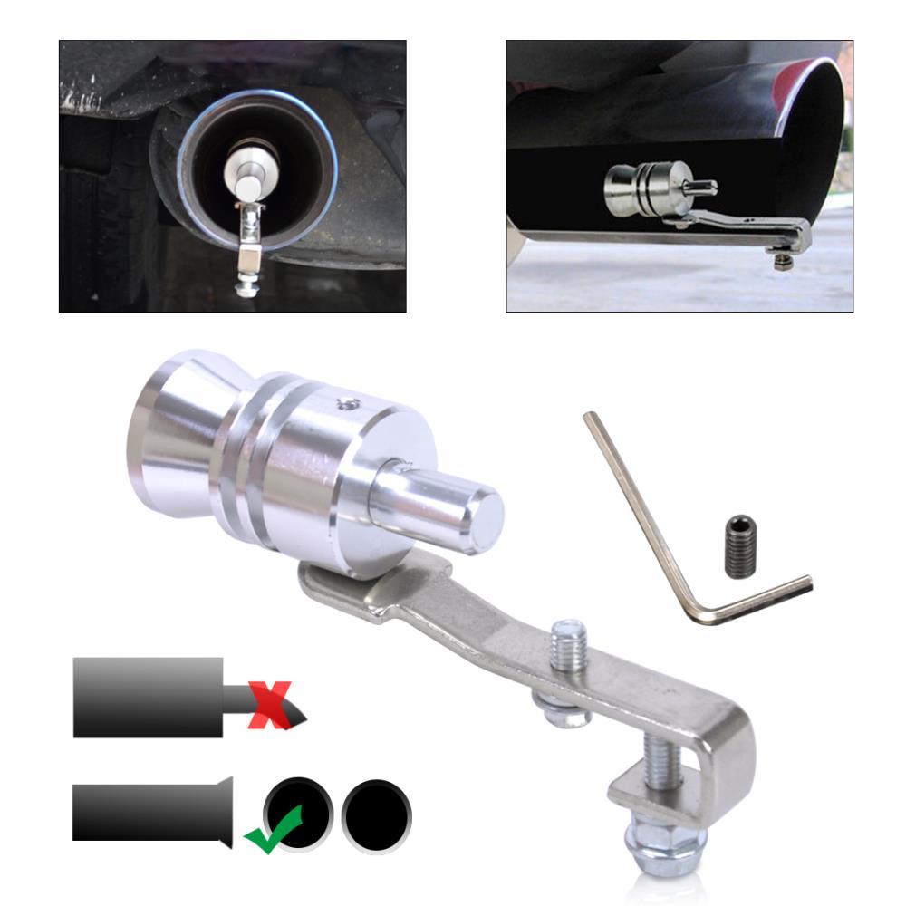 Universal Car Bov Turbo Sound Whistle Simulator Sound Pipe Exhaust Muffler Pipe: CITALL Car Turbo Sound Whistle Muffler Exhaust Pipe Blow