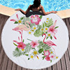 Round Patterned Beach Towel - Cover-Up - Beach Blanket 25