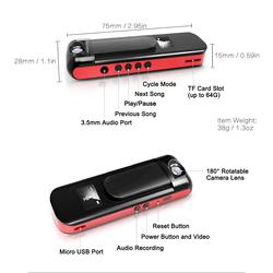IDV009 Mini Camera Pen MP3 Player HD 1080P Motion Detection Micro Secret Camera Video Voice Recording Pen Camera Mini Camcorder