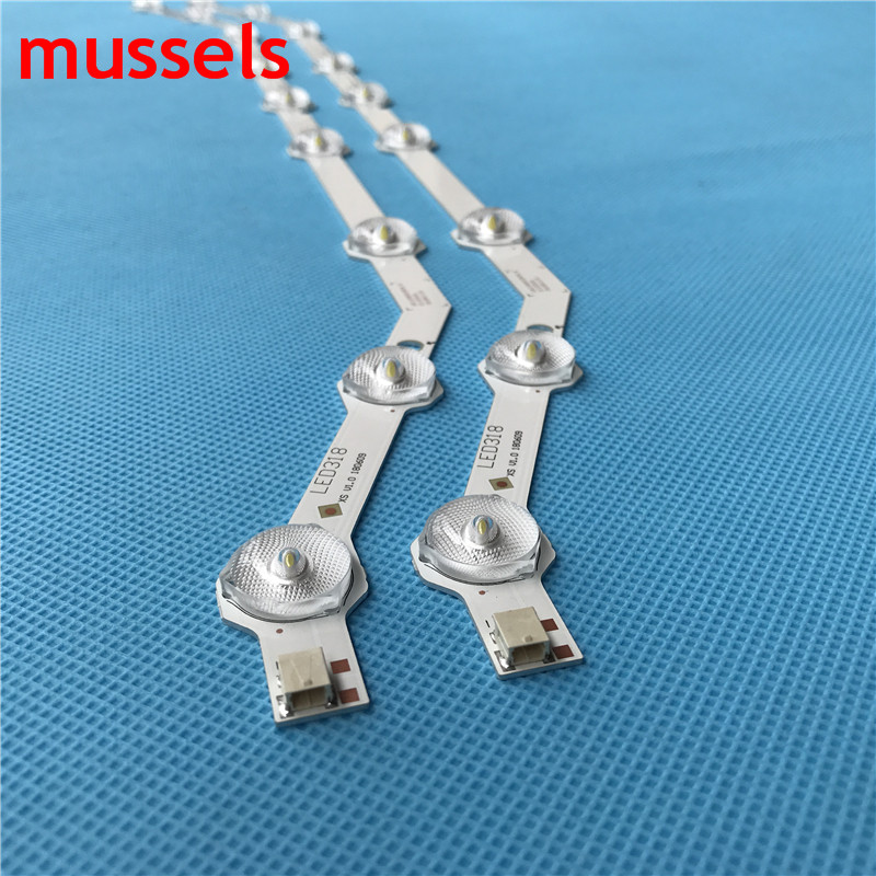 """LED Backlight strip For Samsung 32"""" inch TV 9lamp D3GE-320SM0-R2 BN64-YYC09 BN96-27468A LM41-00001R BN96-33972A Wholesale prices"""