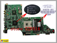 original 615279-001 for HP Pavilion DV6 DV6-3000 DV6T Laptop Motherboard DA0LX6MB6H1 REV : H 100% Test ok