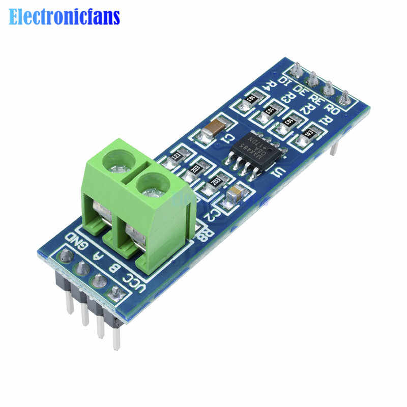 10Pcs/Lot TTL To RS485 Module For Arduino Max458 Chip RS485 RS-485 Communication Transceiver 5V 44*14MM