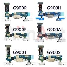 オリジナル USB 充電ポート充電器フレックスケーブルサムスンギャラクシー S5 G900 G900F G900H G900L G900k G900S Dock コネクタフレックス