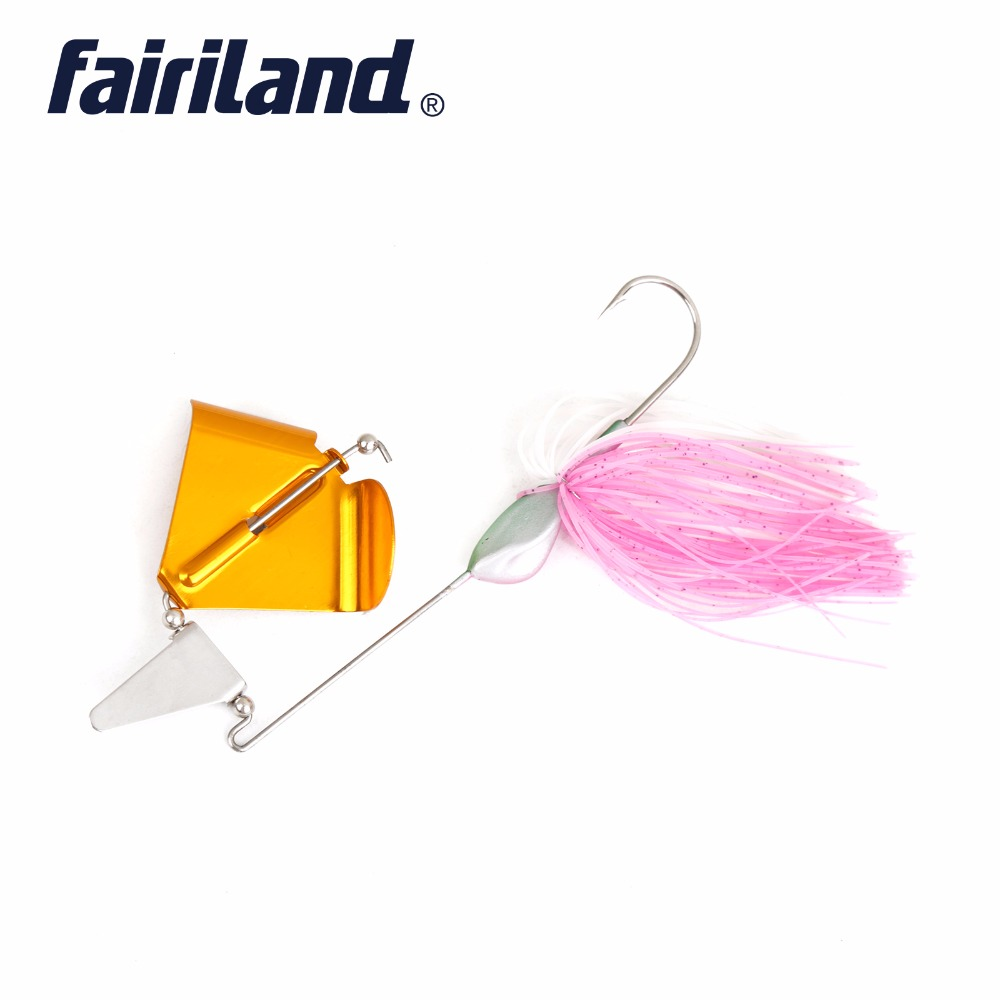 Spinner Bait Light Pink // 20 Silicone Skirt Lure Jig Fishing