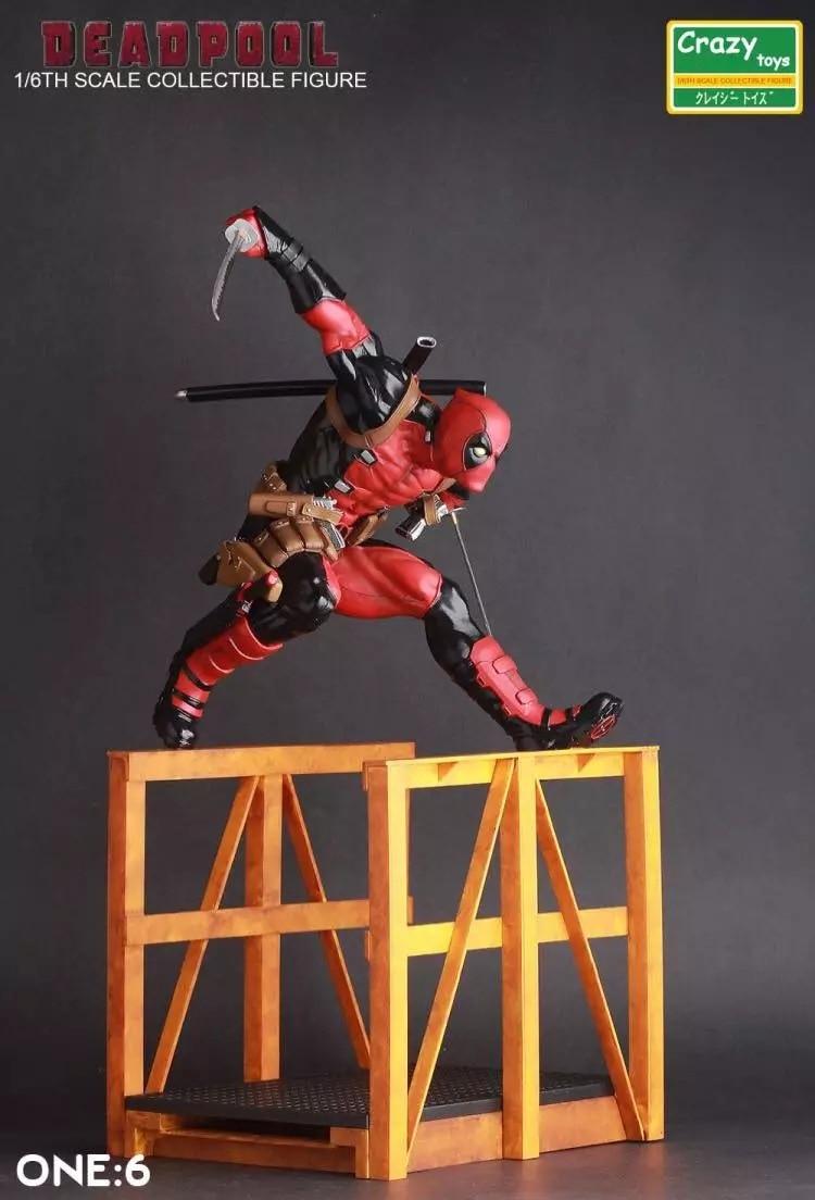 30CM pvc anime figure Deadpool X-Men  action figure collectible model toys for boy naruto kakashi hatake action figure sharingan ver kakashi doll pvc action figure collectible model toy 30cm kt3510