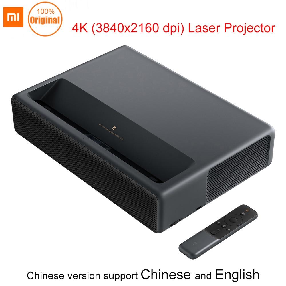 Projecteur Laser Xiao mi jia 4 K 5000 Lumens avec Wifi mi Xiao mi maison intelligente Bluetooth projecteur 3D 4 k 3840x2160 Dpi Xiao mi maison