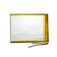3500mAh 3.7V polymer lithium ion Battery 2 Wire Replacement Tablet Battery for