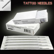 18RL татуировки иглы 100 шт tatto оборудование лучший игла питания