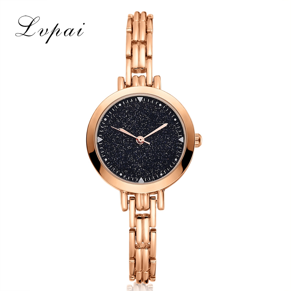 LVPAI Famous Brand Fashion Casual Watches Women Bracelet Watch Quartz WristWatches Luxury Women Dress Watches Gift Clock