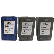 Vilaxh For hp 21xl 22xl compatible ink cartridge for Deskjet 3910 3915 3920 3930 D2460 F2110 F2120 F2128 F2140 printer