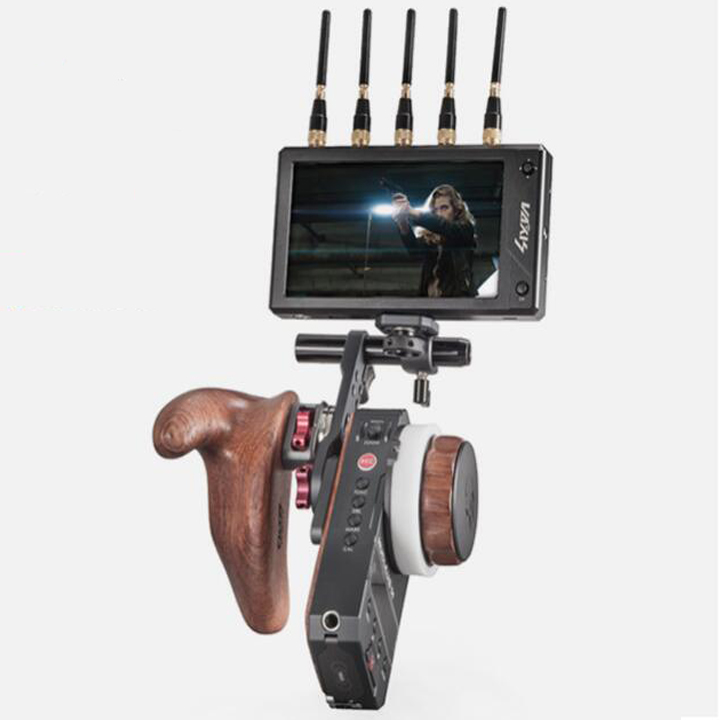 Tilta Nucleus M Multifunctional Arm Monitor Bracket Wooden handle FIZ Hand Unit Arri Rosette Adapter for wireless transmitter-in Photo Studio Accessories from Consumer Electronics    1