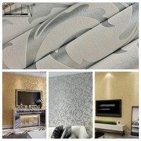 3d Europäischen wohnzimmer tapete, schlafzimmer sofa tv backgroumd wandpapierrolle, papel de parede listrado