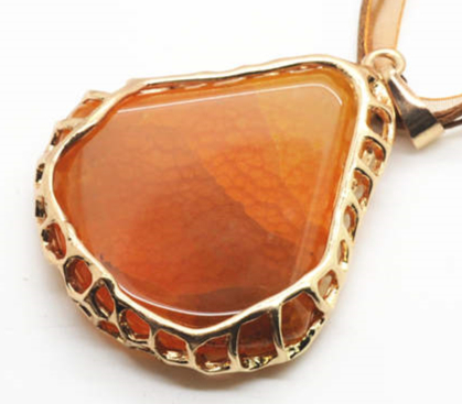 Gold color wire wrapped agate pendant for jewelry necklace men gold color wire wrapped agate pendant for jewelry necklace men women natural semi precious stone green agate pendant in pendants from jewelry accessories publicscrutiny Image collections