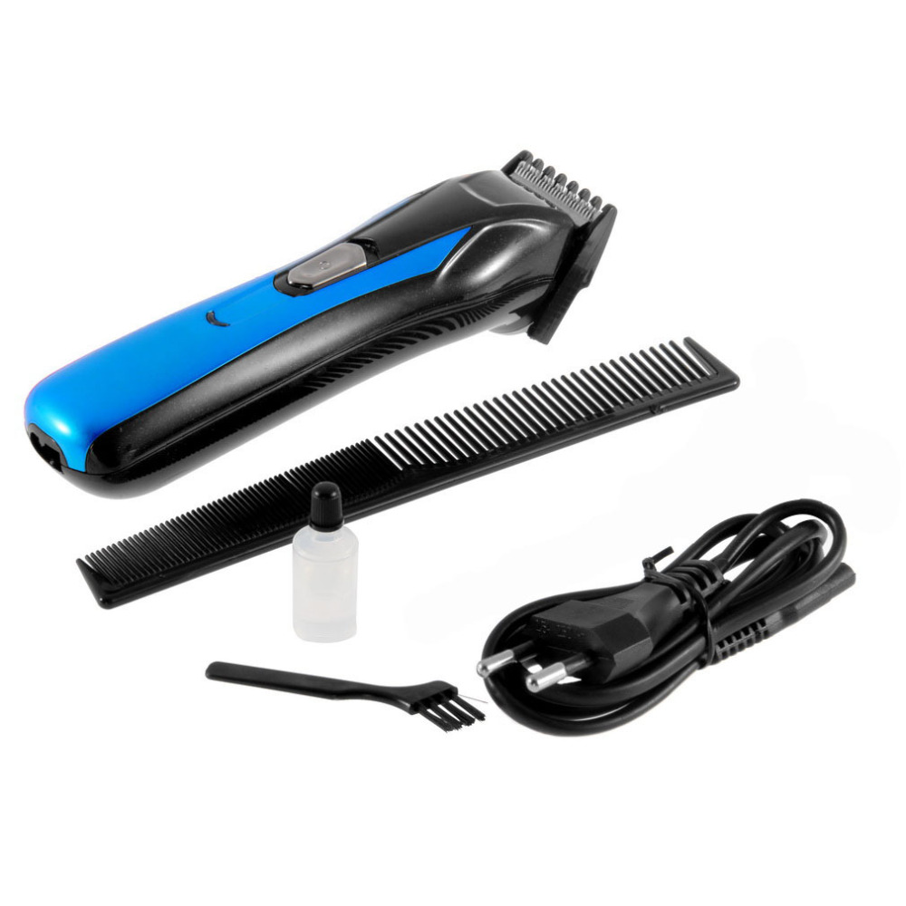 Proman Salon Pro Man Children Electric Hair Trimmers Rechargeable Stainless Steel Hair Clipper Beard Trimmer Comb Ac Wall Charger Scissor In Hair Trimmers From