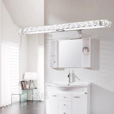 Einfache Moderne Kristall Wandleuchte Badezimmer Wandleuchte LED ...