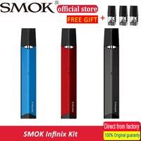 Vape SMOK INFINIX kit Electronic Vape Pen Electronic Cigarette Hookah Pen E Cig Starter Kit Vaporizer & infinix pod 3pcs/pack Electronic Cigarette Kits